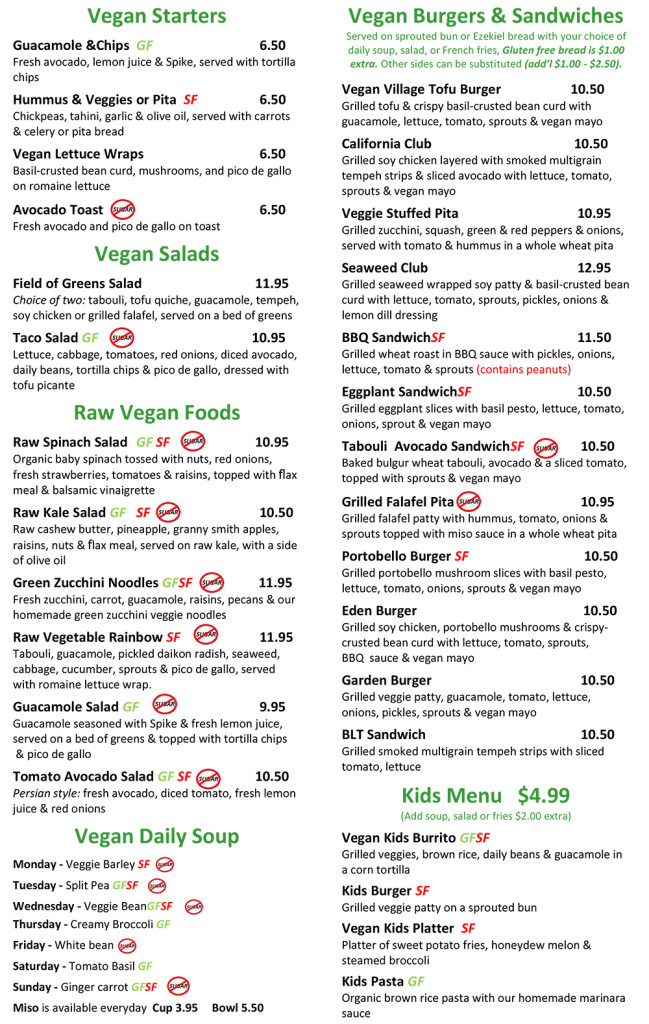 field of greens menu-1